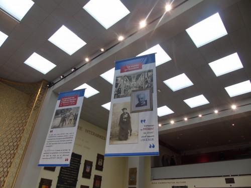 Un nouvel éclairage pour le hall du musée de l'Officier