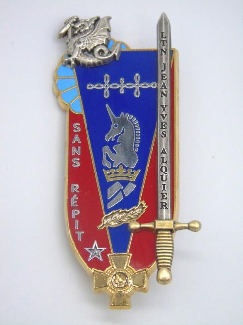 "Insigne ESM4  ""Lieutenant Jean-Yves Alquier"""