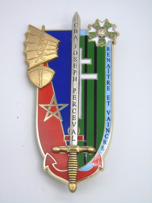 """Insigne ESM4 """"Chef de bataillon Joseph Perceval"""""""