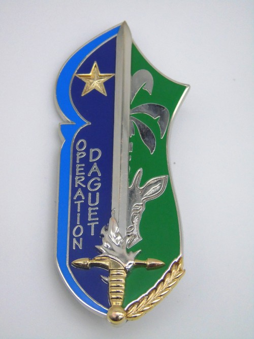 """Insigne EAM """"Opération Daguet"""""""