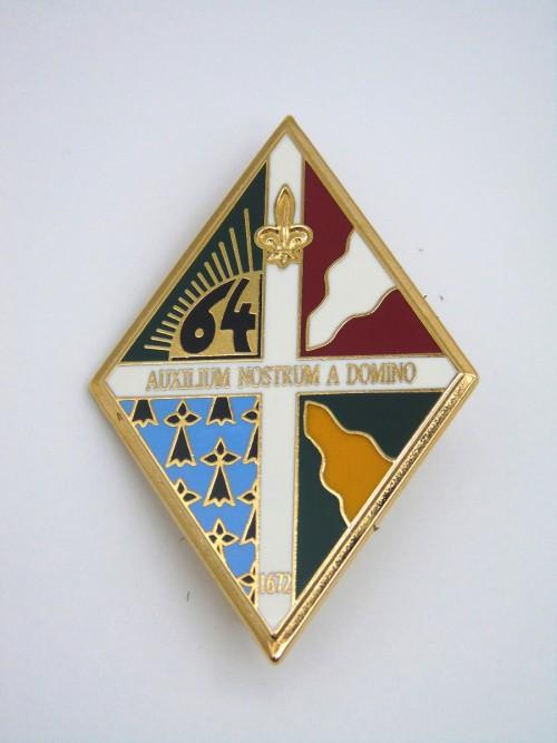 Insigne du 64ème RI