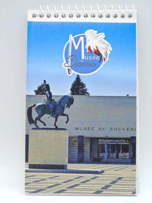 Bloc notes musée du Souvenir