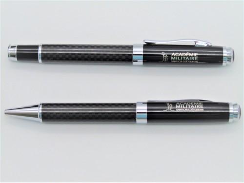 Coffret luxe stylos roller et bille
